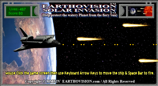 EARTHOVISION - Solar Invasion